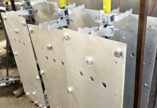 Anodize racking large part